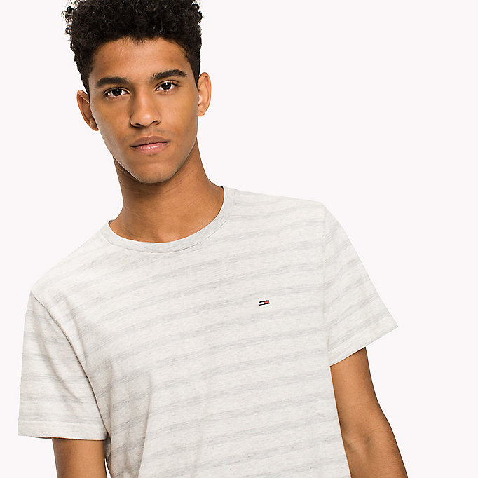 TOMMY JEANS Jersey Striped T-Shirt - ARTISANS GOLD - TOMMY JEANS Clothing - detail image 2