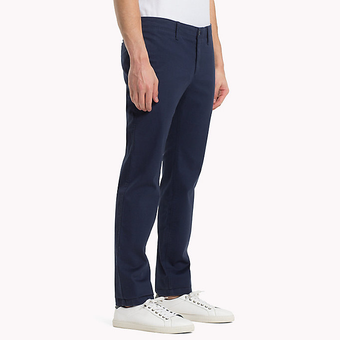 TOMMY JEANS Cotton Twill Slim Fit Chinos -  - TOMMY JEANS Clothing - detail image 2
