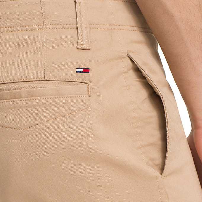 TOMMY JEANS Slim Fit Chinos aus Baumwoll-Twill - BLACK IRIS - TOMMY JEANS Kleidung - main image 4