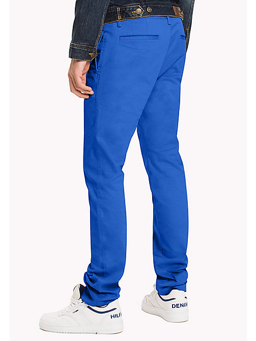 TOMMY JEANS Slim Fit Chinos aus Baumwoll-Twill - NAUTICAL BLUE - TOMMY JEANS Herren - main image 1