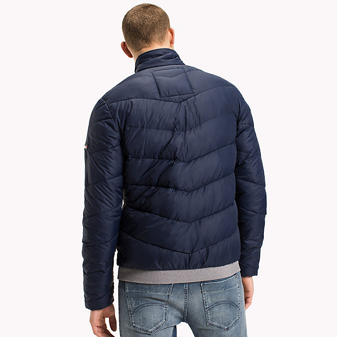 TOMMY JEANS Recycled Polyester Down Jacket - TOMMY BLACK - TOMMY JEANS Men - detail image 1