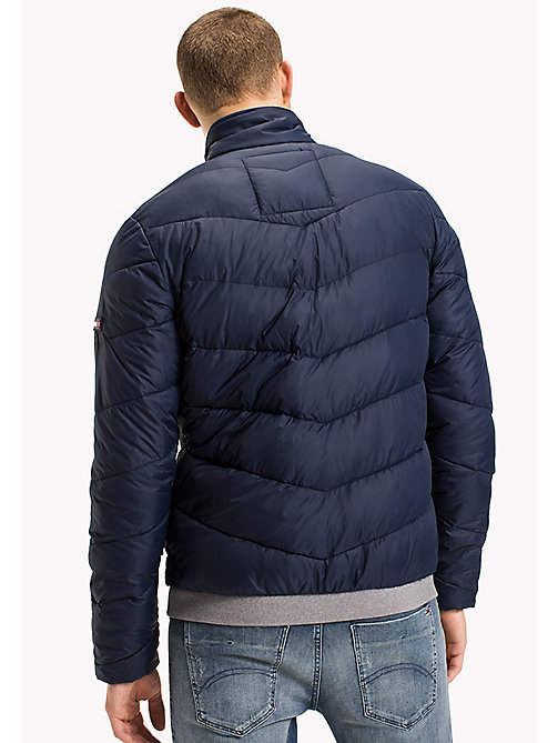 TOMMY JEANS Recycled Polyester Down Jacket - BLACK IRIS - TOMMY JEANS Coats & Jackets - detail image 1