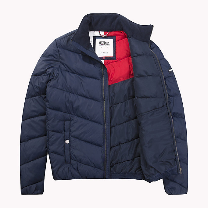 TOMMY JEANS Recycled Polyester Down Jacket - TOMMY BLACK - TOMMY JEANS Clothing - detail image 4