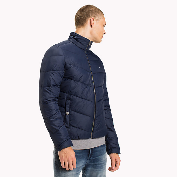 TOMMY JEANS Recycled Polyester Down Jacket - TOMMY BLACK - TOMMY JEANS Men - main image
