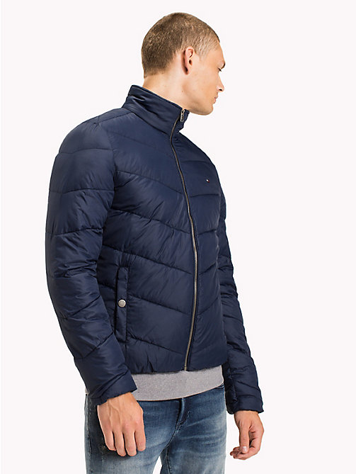 TOMMY JEANS Recycled Polyester Down Jacket - BLACK IRIS - TOMMY JEANS Coats & Jackets - main image