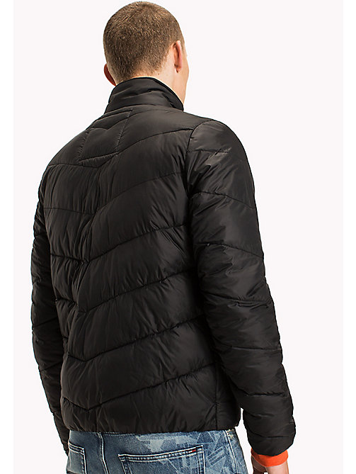 TOMMY JEANS Recycled Polyester Down Jacket - TOMMY BLACK - TOMMY JEANS Coats & Jackets - detail image 1