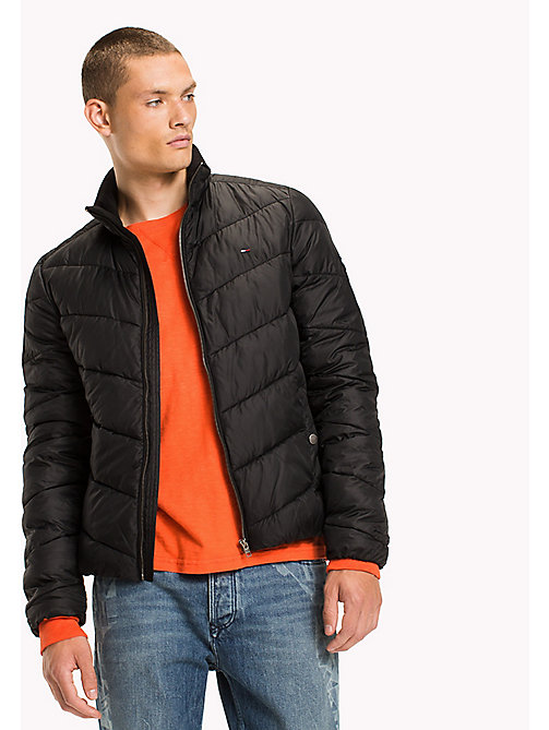 TOMMY JEANS Recycled Polyester Down Jacket - TOMMY BLACK - TOMMY JEANS Coats & Jackets - main image