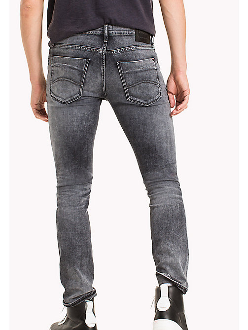 TOMMY JEANS Destructed Slim Fit Jeans - DENVER GREY COMFORT DESTRUCTED - TOMMY JEANS MEN - detail image 1