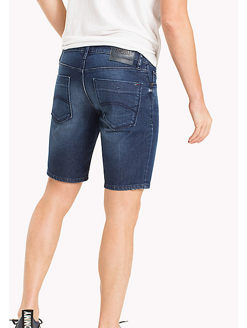 TOMMY JEANS Denim Slim Fit Shorts - CLASSIC MID BLUE COMFORT - TOMMY JEANS Trousers & Shorts - detail image 1
