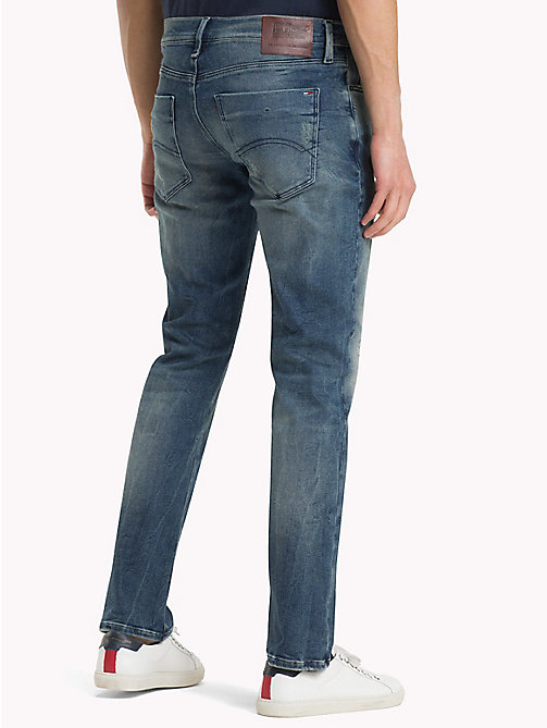 TOMMY JEANS Scanton jeans slim fit - DYNAMIC STOCKTON MID BLUE STR. DESTR. - TOMMY JEANS Jeans - imagen detallada 1