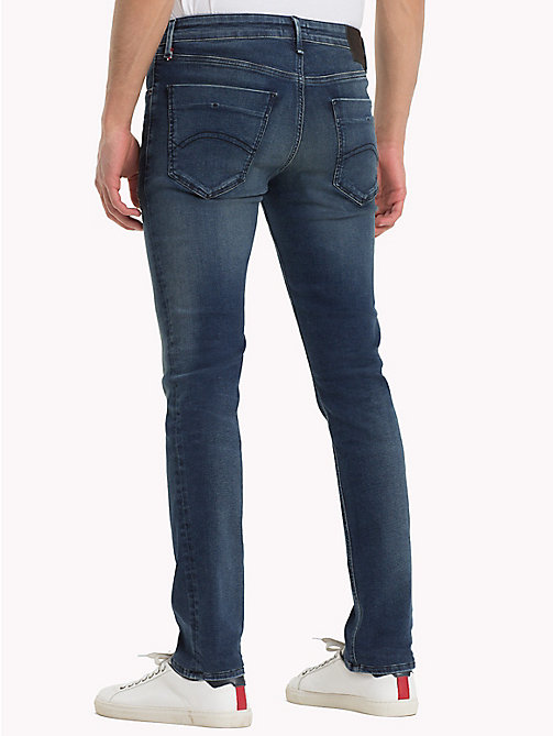 TOMMY JEANS Jeans vestibilità slim - DYNAMIC MISSION DARK BLUE STRETCH - TOMMY JEANS Jeans Slim-Fit - dettaglio immagine 1