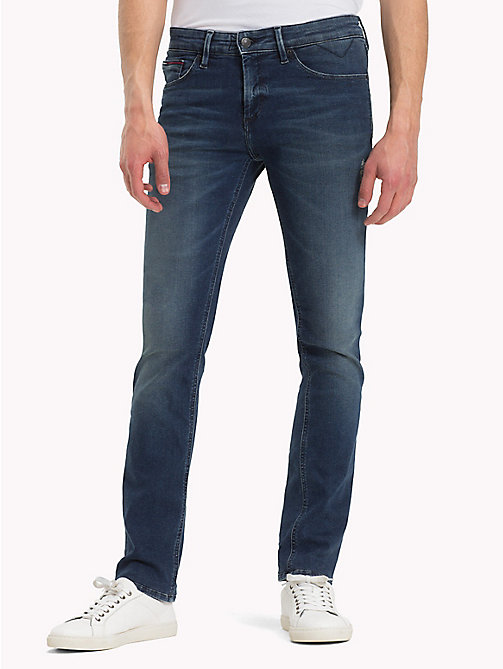 TOMMY JEANS Slim Fit Jeans - DYNAMIC MISSION DARK BLUE STRETCH - TOMMY JEANS Jeans - main image
