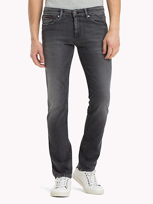 TOMMY JEANS Slim Fit Jeans - DYNAMIC POLK BLACK STRETCH - TOMMY JEANS Jeans - main image