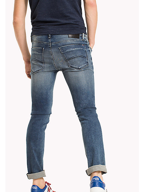 TOMMY JEANS Dynamic Stretch Slim Fit Jeans - DYNAMIC IRVINE MID BLUE STRETCH - TOMMY JEANS TOMMY JEANS MEN - detail image 1