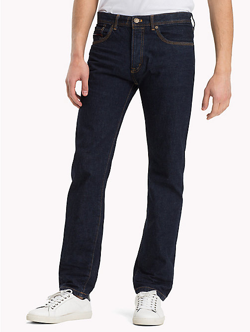 TOMMY JEANS Straight Fit Jeans - TOMMY SELVEDGE RIIGD RINSE - TOMMY JEANS Jeans - main image