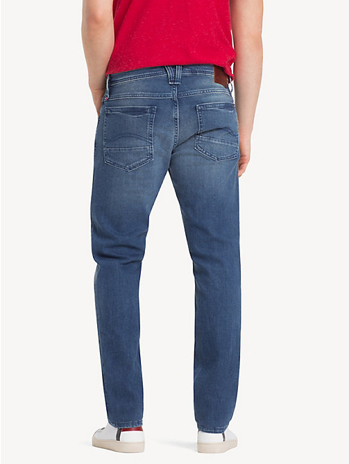 TOMMY JEANS Original Tapered Denim Jeans - BERRY MID BLUE COMFORT - TOMMY JEANS Clothing - detail image 1