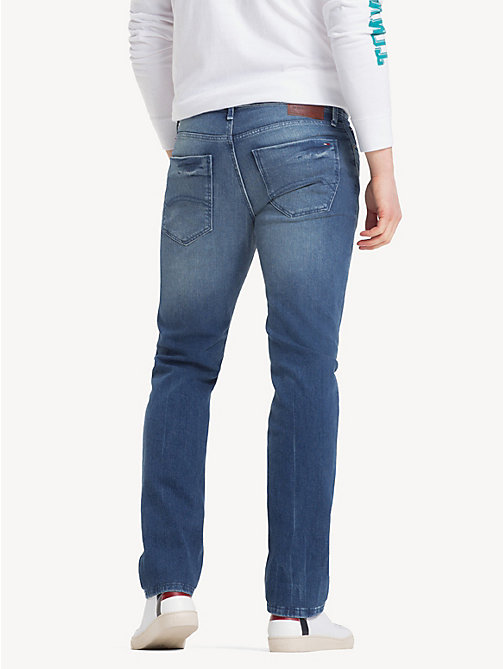 TOMMY JEANS Slim Fit Denim Jeans - BERRY MID BLUE COMFORT - TOMMY JEANS Jeans - detail image 1
