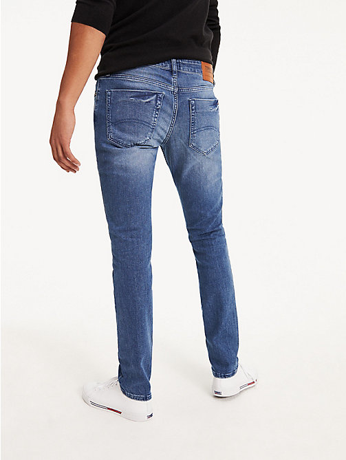TOMMY JEANS Slim Fit Denim Jeans - BERRY MID BLUE COMFORT - TOMMY JEANS Slim Fit Jeans - detail image 1