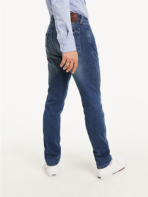 TOMMY JEANS Tapered Slim Fit Denim Jeans - BERRY MID BLUE COMFORT - TOMMY JEANS Basics - detail image 1