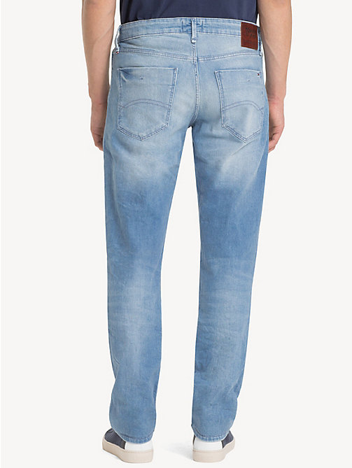 TOMMY JEANS Slim Fit Denim Jeans - BERRY LIGHT BLUE COMFORT - TOMMY JEANS Slim Fit Jeans - detail image 1