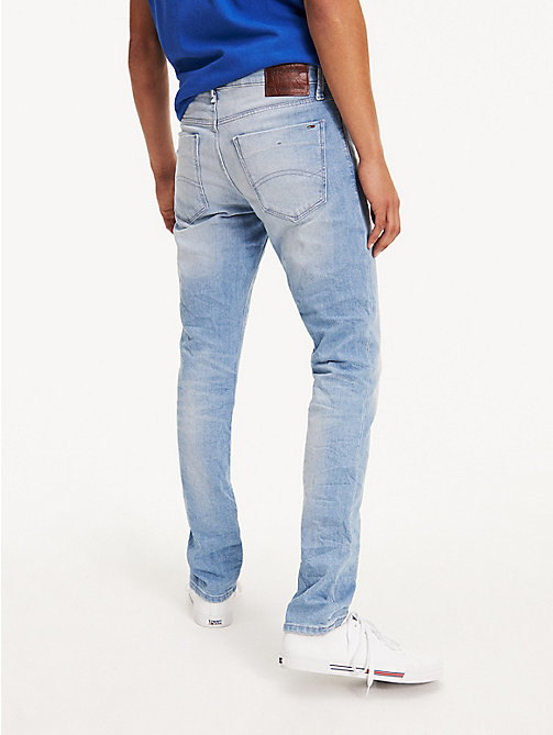 TOMMY JEANS Slim Fit Denim Jeans - BERRY LIGHT BLUE COMFORT - TOMMY JEANS Basics - detail image 1