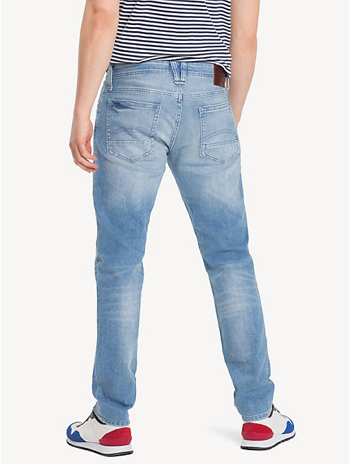 TOMMY JEANS Original Tapered Denim Jeans - BERRY LIGHT BLUE COMFORT - TOMMY JEANS Clothing - detail image 1