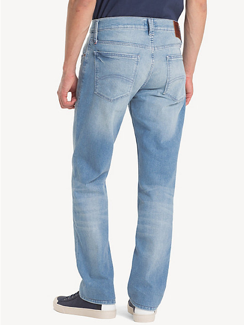 TOMMY JEANS Original Straight Denim Jeans - BERRY LIGHT BLUE COMFORT - TOMMY JEANS Clothing - detail image 1