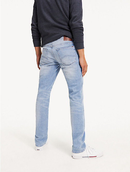 TOMMY JEANS Original Straight Denim Jeans - BERRY LIGHT BLUE COMFORT - TOMMY JEANS Straight Fit Jeans - detail image 1
