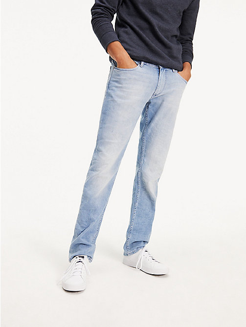 TOMMY JEANS Original Straight Denim Jeans - BERRY LIGHT BLUE COMFORT - TOMMY JEANS Straight Fit Jeans - main image
