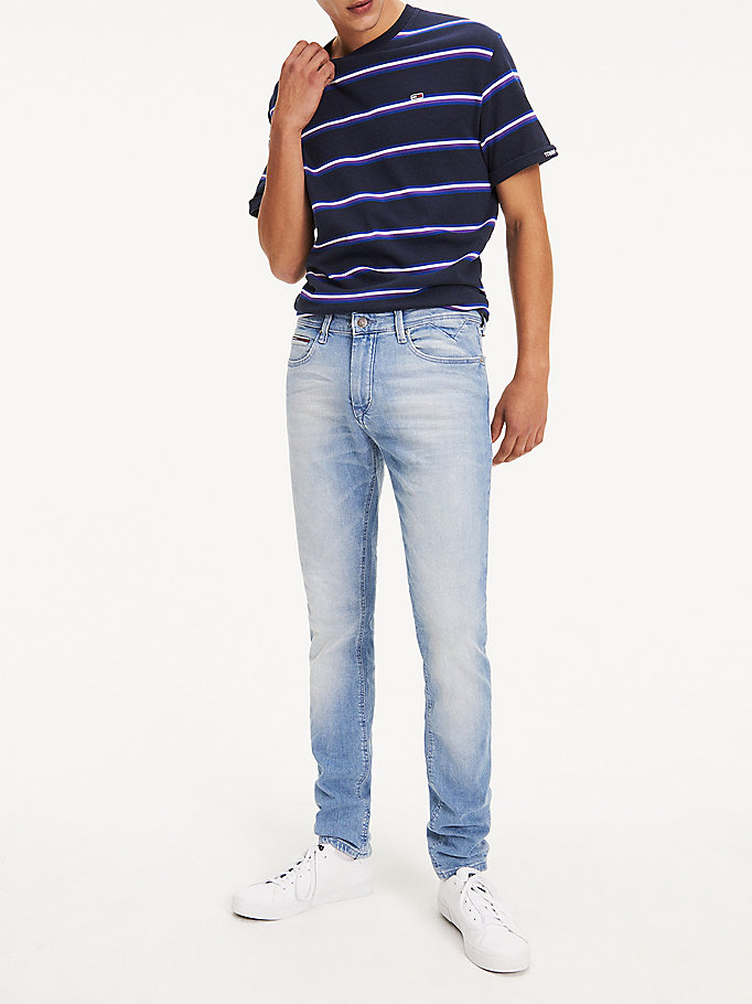 denim tapered slim fit denim jeans for men tommy jeans