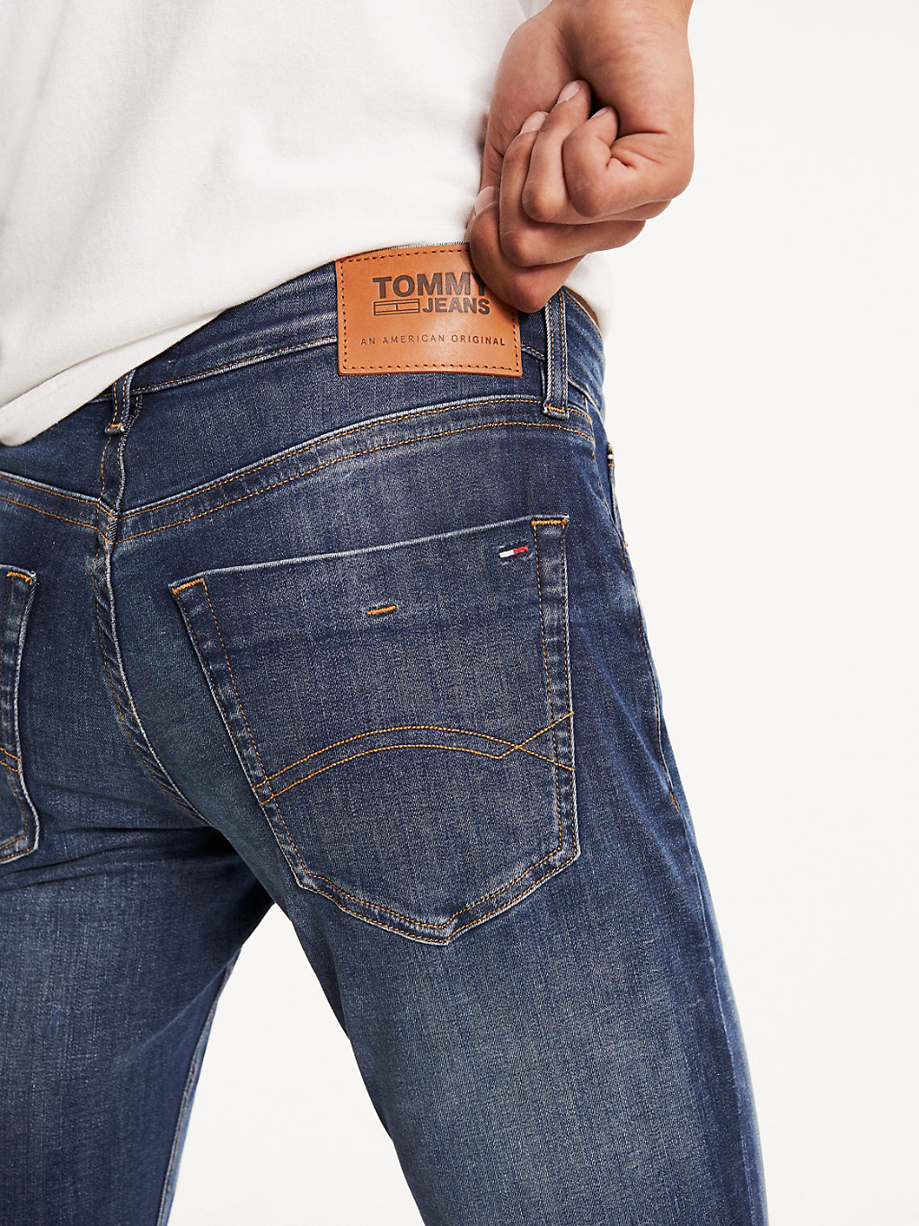 Tommy Hilfiger - Slim Stretch Denim Jeans - 4