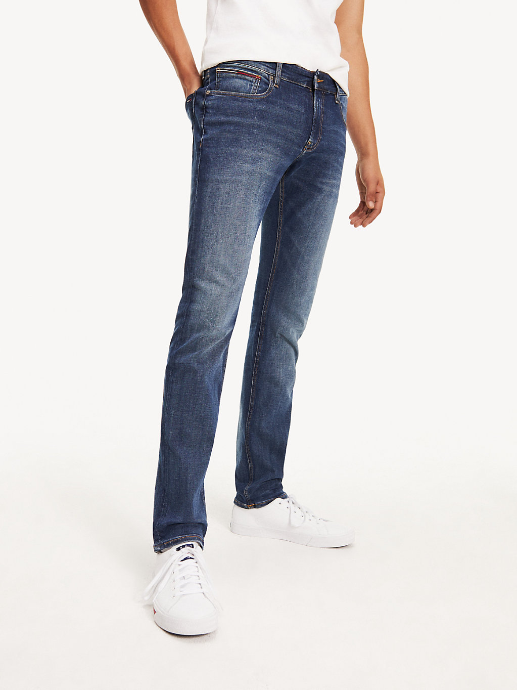Tommy Hilfiger - Slim Stretch Denim Jeans - 1