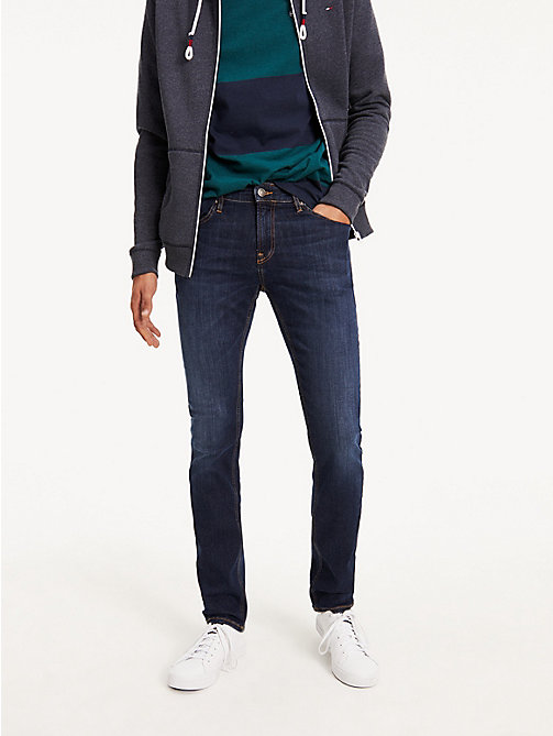 TOMMY JEANS Slim Fit Stretch Jeans - DYNAMIC TRUE DARK STRETCH - TOMMY JEANS Basics - main image