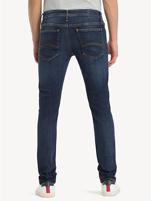 TOMMY JEANS Stretch Skinny Fit Denim Jeans - DYNAMIC TRUE DARK STRETCH - TOMMY JEANS Skinny Jeans - detail image 1