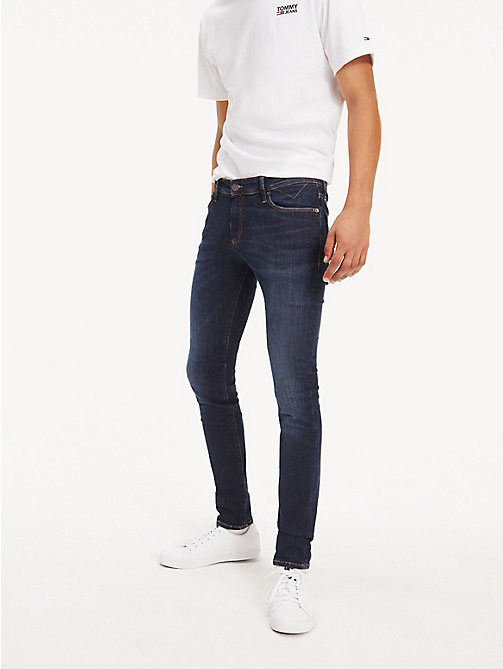 TOMMY JEANS Stretch Skinny Fit Denim Jeans - DYNAMIC TRUE DARK STRETCH - TOMMY JEANS Basics - main image