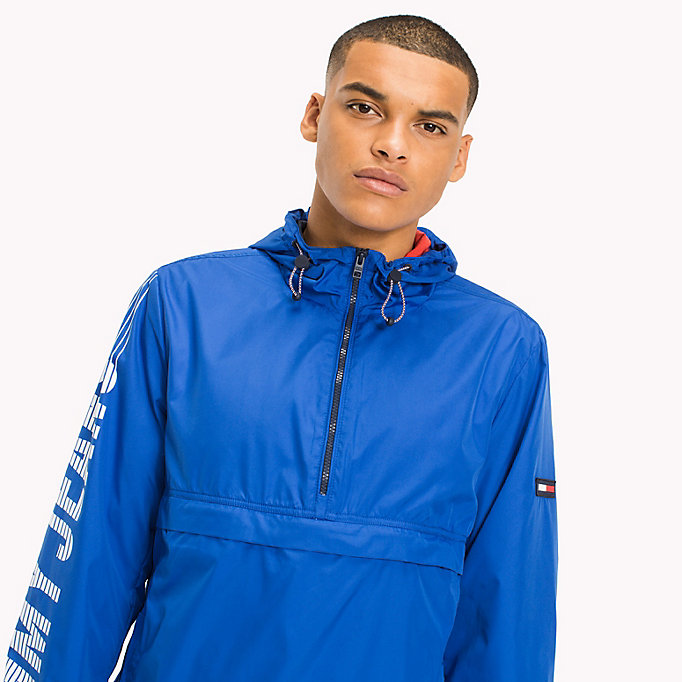 TOMMY JEANS Anorak aus Recycling-Polyester - TOMMY BLACK - TOMMY JEANS Herren - main image 3