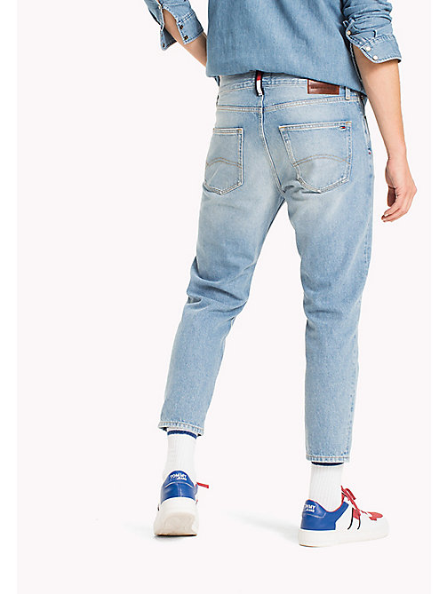 TOMMY JEANS Relaxed Fit Cropped Jeans - TOMMY JEANS LIGHT BLUE RIGID - TOMMY JEANS Clothing - detail image 1
