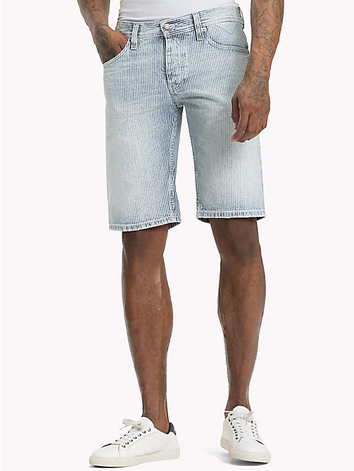 TOMMY JEANS Shorts in denim a righe hickory - TRACK HICKORY RIGID - TOMMY JEANS Pantaloni - immagine principale