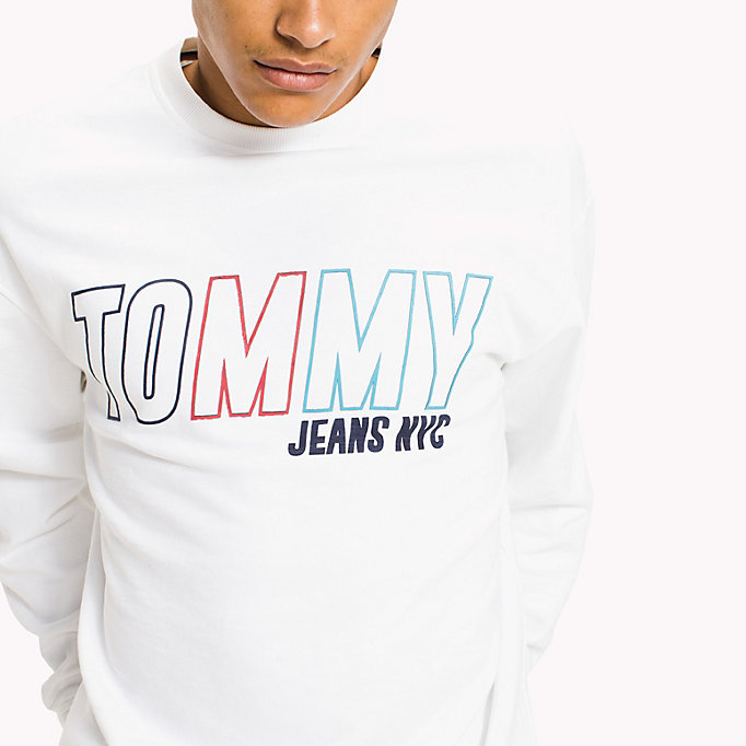 TOMMY JEANS Vintage Graphic Crew Sweatshirt - VIOLET ICE - TOMMY JEANS Men - detail image 2
