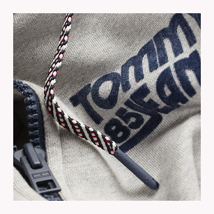TOMMY JEANS Regular Fit Zip Hoodie - BLACK IRIS - TOMMY JEANS Men - detail image 3