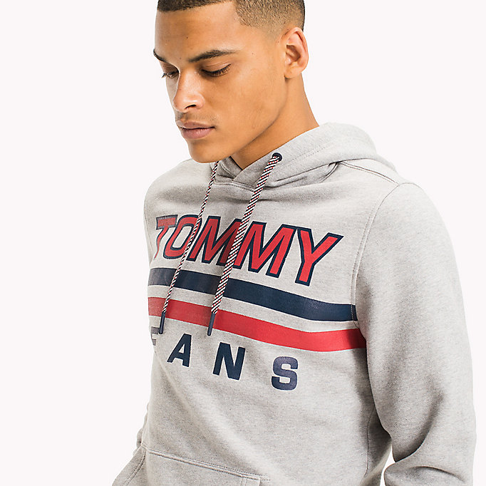 TOMMY JEANS Regular Fit Hoodie - NAUTICAL BLUE - TOMMY JEANS Clothing - detail image 2