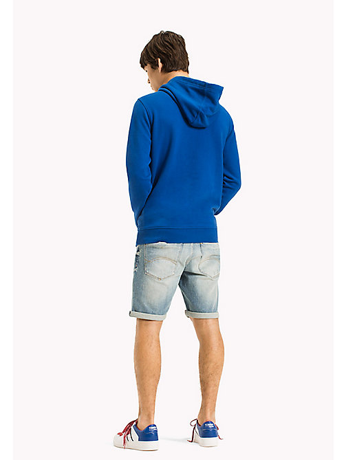 TOMMY JEANS Regular Fit Hoodie - NAUTICAL BLUE - TOMMY JEANS MEN - detail image 1
