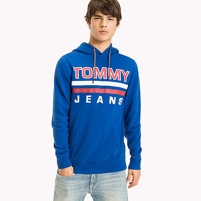 TOMMY JEANS Regular Fit Hoodie - BLACK IRIS - TOMMY JEANS Clothing - main image