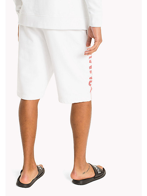 TOMMY JEANS Relaxed Fit Basketball Shorts - CLASSIC WHITE - TOMMY JEANS Trousers & Shorts - detail image 1