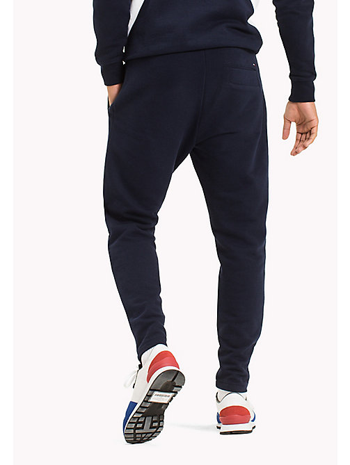 TOMMY JEANS Regular Fit Sweatpants - BLACK IRIS - TOMMY JEANS Trousers & Shorts - detail image 1