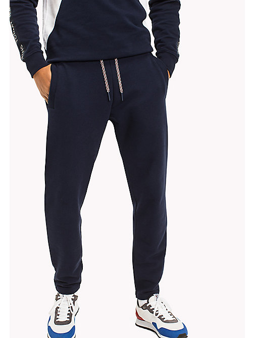 TOMMY JEANS Regular Fit Sweatpants - BLACK IRIS - TOMMY JEANS Trousers & Shorts - main image