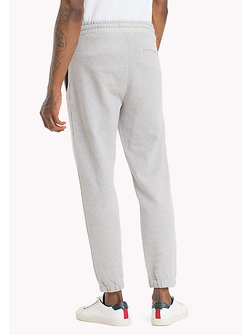TOMMY JEANS Regular Fit Sweatpants - LT GREY HTR - TOMMY JEANS Vacation Style - detail image 1