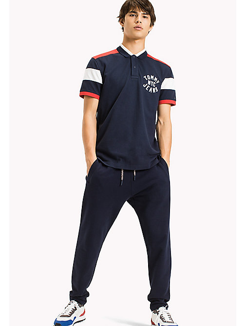 TOMMY JEANS Polo relaxed fit - BLACK IRIS - TOMMY JEANS Sviluppo-sostenibile - immagine principale