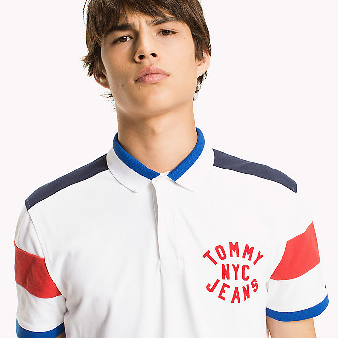 TOMMY JEANS Relaxed Fit Poloshirt - NAUTICAL BLUE - TOMMY JEANS Herren - main image 2