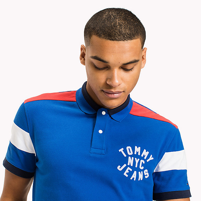 TOMMY JEANS Relaxed Fit Poloshirt - RACING RED - TOMMY JEANS Herren - main image 2